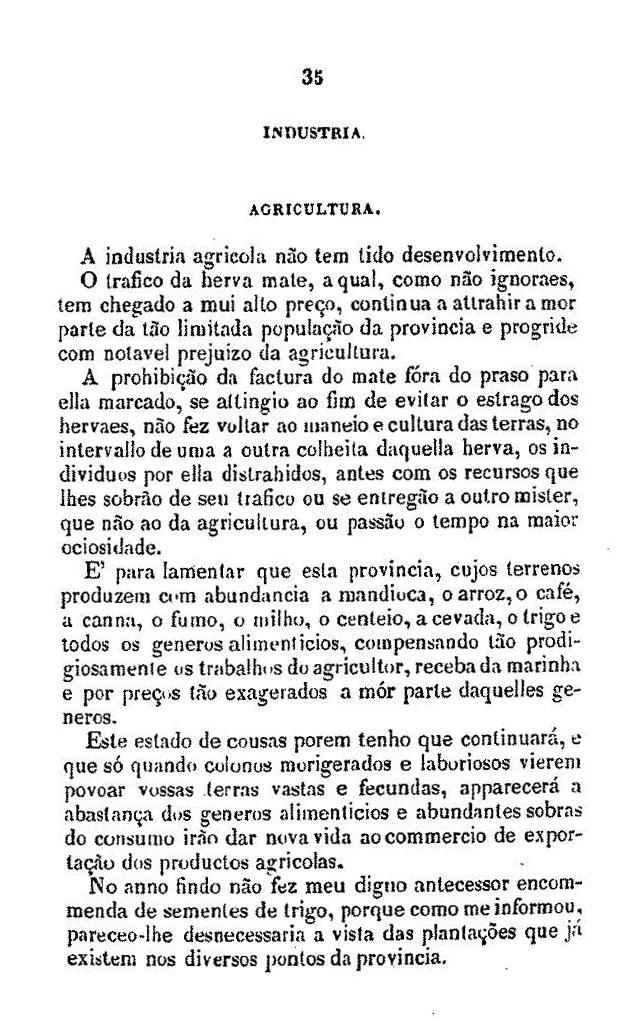 Relatório do presidente da província do Paraná, Francisco Liberato de Mattos, na abertura da Assemblea Legislativa Provincial em 7 de janeiro de 1858. Curityba, Typ. Paranaense de C. Martins Lopes, 1858.   http://brazil.crl.edu/bsd/bsd/620/000039.html