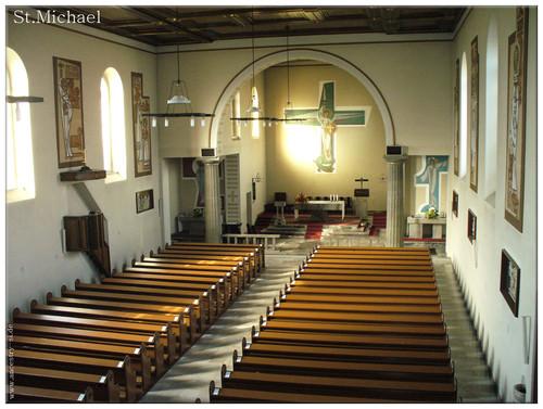 Kościół 1966 r.  – interior da igreja em 1966