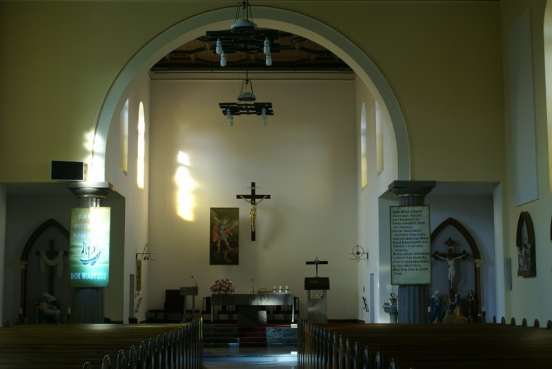 Kościół 2012 r.  – interior da igreja em 2012